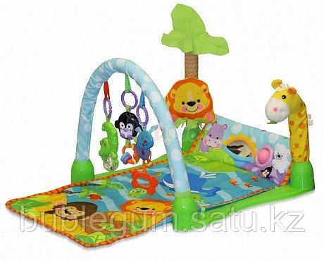 Развивающий игровой музыкальный коврик Lorelli Toys Африка