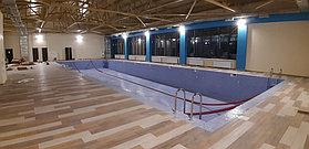 Скиммерный бассейн (коммерческий). Размер = 25 х 12, глубина = 1,6-2,0 м. Адрес: Алматинская область, пос. Бескайнар, гостиничный комплекс... 1
