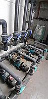 Скиммерный бассейн (коммерческий). Размер = 25 х 12, глубина = 1,6-2,0 м. Адрес: Алматинская область, пос. Бескайнар, гостиничный комплекс... 13