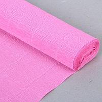 """Бумага гофрированная, 554 """"Детский розовый"""", 0,5 х 2,5 м, фото 1"""