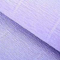 """Бумага гофрированная, 592 """"Светло-сиреневая"""", 0,5 х 2,5 м, фото 1"""