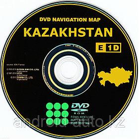 GEN-5 DVD NAVIGATION MAP of KAZAKHSTAN - (LEXUS DENSO)