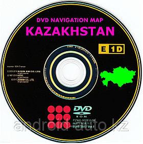 GEN-5 DVD NAVIGATION MAP of KAZAKHSTAN (AISIN)