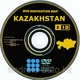 GEN-5 DVD NAVIGATION MAP of KAZAKHSTAN - (TOYOTA DENSO)