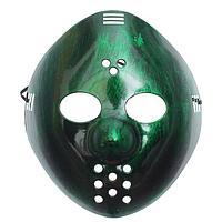 "Карнавальная маска ""Пила"", цвет зелёный"