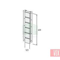 Внутренний угол (универсальная планка) VOX Solid Brick York (коричневый кирпич), фото 2