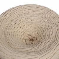 Трикотажная лента 'Лентино' лицевая 100м/320гр, 7-8 мм (экрю)