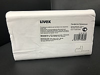 Салфетки uvex для станции (700 шт. в упаковке, Z-сложение).