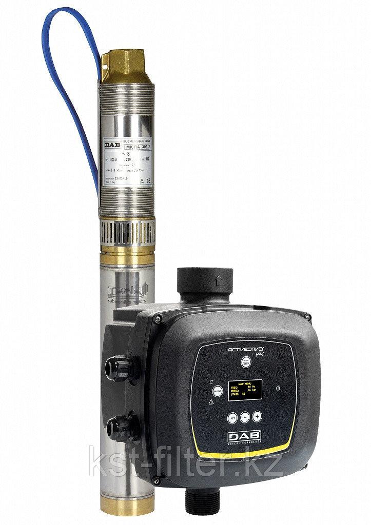 Многоступенчатый скважинный насос с ЧП, тип MICRA HS 302 - 4, DAB (Италия)