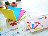 Клейкие листики STICK`N Magic 76 х 76 мм, 4 цвета, 100 листов, фото 6