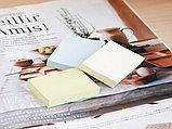 Клейкие листки STICK`N 38 х 51 мм желтые, 100 листов, фото 2