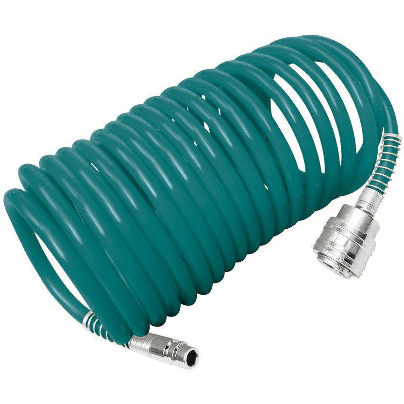 Шланг пневматический спиральный 10 м TOTAL THT11101