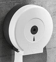 Диспенсер для туалетной бумаги Jumbo белый пластик, фото 1
