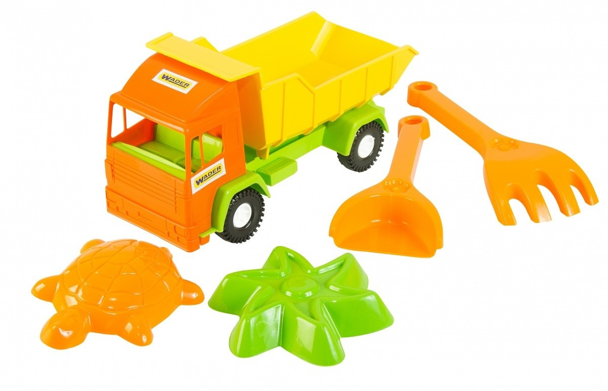 """Грузовик Tigres """"Mini truck"""" с набором для песка  5 элементов"""
