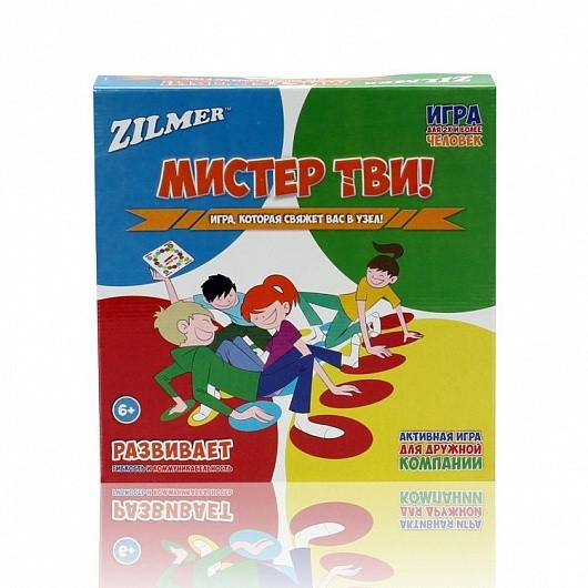 """Активная игра для детей и всей семьи Zilmer  """"Мистер Тви!"""""""