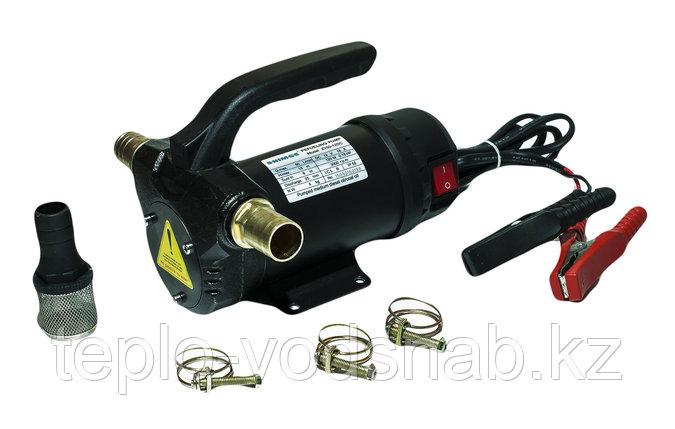 Насос для перекачки дизельного топлива и масла SHIMGE ZY50-12DC, фото 2