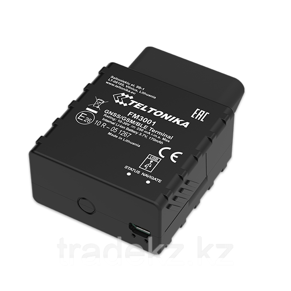 GPS/ГЛОНАСС трекер Teltonika FM3001 (3G OBD)