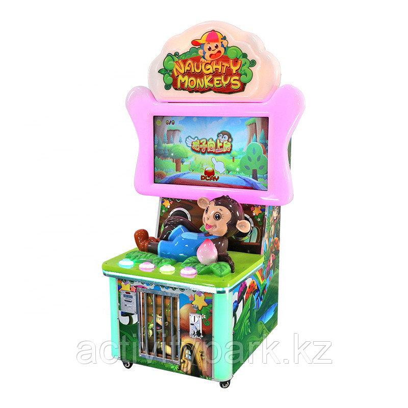 Игровой автомат - Naughty monkeys