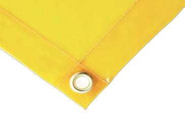 WELDING CURTAINS 4'X6' 0.35MM Orange