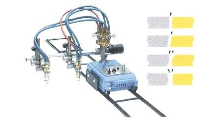 DUAL TORCH PORTABLE PLATE CUTTING MACHINE