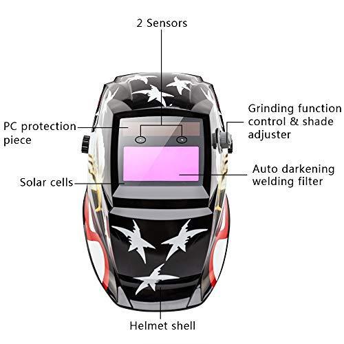 PREMIUM AUTO WELDING HELMET MW-H4