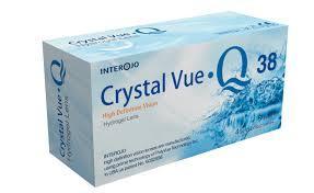Линзы Cristal Vue Q38, 2шт (1 пара)
