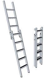 Лестница колодезная типа ЛК