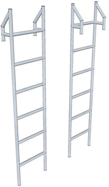 Лестница навесная типа ЛНА