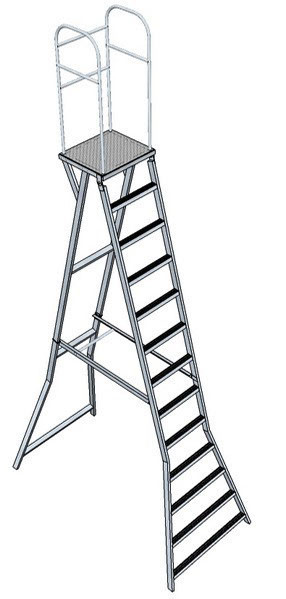 Лестница с площадкой Л-312А