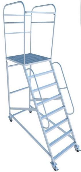 Лестница с площадкой типа ЛСА