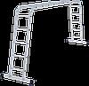 Лестница-трансформер NV 100 4х5, (5,41 м), фото 2
