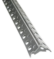 Уголок перфорированный алюминиевый 25*25*3000*0,26, усиленный