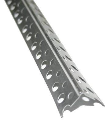 Уголок перфорированный алюминиевый 20*20*3000*0,26, усиленный