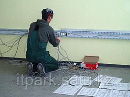 Проектирование, монтаж, пусконаладка и обслуживание структурированных кабельных систем СКС, локальных сетей, компьютерных сетей