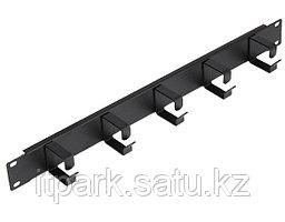 Горизонтальный организатор Toten SA.1701.0001, 19, 1U, с крышкой (пенал), black.