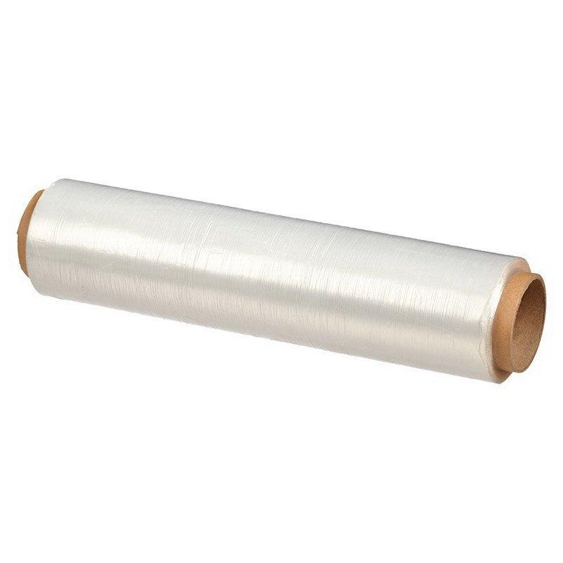 Плёнка ПЭ пищ. 300мм х 200м белая, 7 мкм, в упаковке