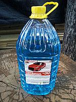 Незамерзающая жидкость , незамерзайка , жидкость для омывателя зимняя -30 канистра 5 литров без запаха