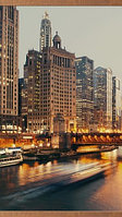 Электрообогреватель-картина гибкий настенный «Доброе тепло» 500W TeploMaxx (Ночной город)