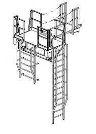 Лестницы специализированные промышленные