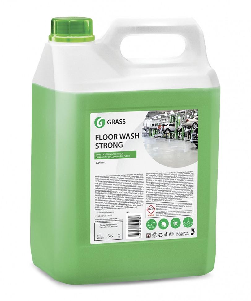 Средства для мытья пола Floor Wash Strong Щелочное (125193)