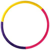 Обруч утяжеленный 'Идеальный силуэт', d90 см, 2,0 кг, цвета МИКС