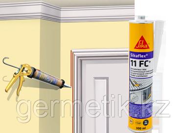 Sikaflex-11FC, клей-герметик, черный, картридж 300 мл
