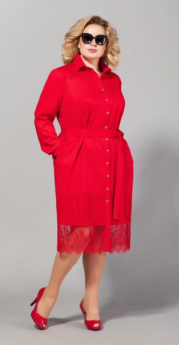 Платье Сч@стье-7004, красный, 46