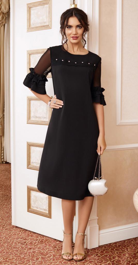 Платье Lissana-3891, черный, 48