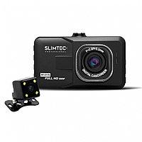 Видеорегистратор автомобильный SLIMTEC Dual F2