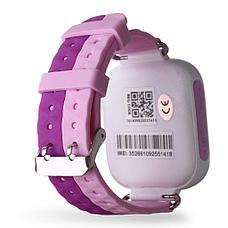 Детские смарт-часы Q80 1.44, цвет розовый + фиолетовый, фото 3