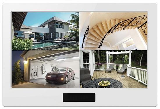 Возможность одновременного приема сигнала с четырех камер позволяет осуществлять комплексное видеонаблюдение (нажмите на фото для увеличения)
