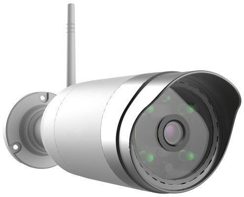 Камера из комплекта позволяет вести наблюдение за ближайшей территорией днем и ночью и может фиксировать любое движение в поле своего зрения (нажмите на фото для увеличения)
