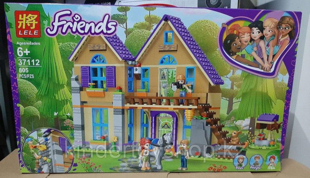 "Конструктор Lele 37112 ""Дом Мии"" (аналог Lego Friends 41369), 805 дет"