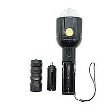 Светодиодный цветной LED проектор на штативе 2-в-1, фото 2